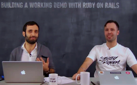 Build a Working Demo with Ruby on Rails in Two Hours